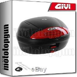 Givi Top Case Simply II E450n + Porte-paquet Triumph Street Triple 675 2010 10
