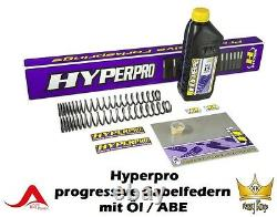Hyperpro Progressive Ressorts de Fourche Triumph Street Triple 675 Bj 07-12 ABE