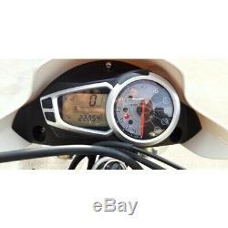Instrumentation Tableau de Bord Instruments Compter km Triumph Street Triple 675