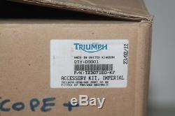 KIT CARENAGES pour TRIUMPH STREET TRIPLE 2007/12. Ref T2307150-KF ORIGINAL