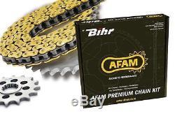 Kit chaine AFAM TRIUMPH STREET TRIPLE R 675 (Pas de 525 type XSR2)