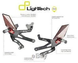 Lightech Marchepieds Arriéré R Réglable Articulé Triumph Street Triple 765rs