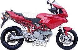 MIVV 2 Pot D Echappement Hom Xcone Underseat Ducati Multistrada 1100 2007 07