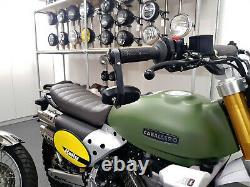 Moto Guidon Embout Rétroviseur Pour Triumph Vitesse Street Triple Modèles Paire