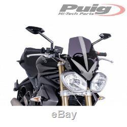 Pare-brise Puig Fume Fonce 5658f Triumph Speed Triple 1050 2011 / 2015