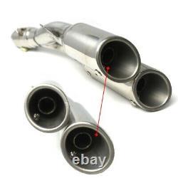 Pot Echappement Twin pour Triumph Street Triple / R / RS Silencieux Inox
