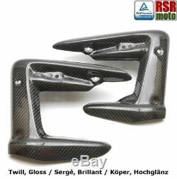 RSR Moto Triumph 675 Street Triple 100% Carbone Caches Radiateur 07-12