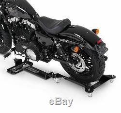 Rail de Rangement Moto Triumph Street Triple R ConStands M2 noir déplacement