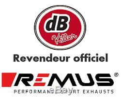 SILENCIEUX REMUS HYPERCONE NOIR e4 TRIUMPH STREET TRIPLE 765 S / R / RS 2017/19