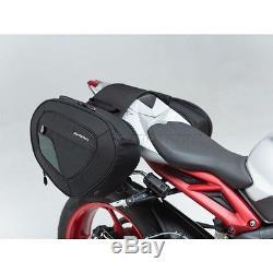 SW-Motech Blaze saddlebags set Triumph Street Triple RX