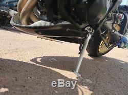 Sabot Triumph Street Triple 2007 2008 2009 2010 2011 2012 Carbone