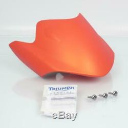 Saute vent origine moto Triumph 675 Street triple 2011 Matt Orange A9708181-ES