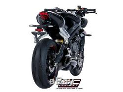 Sc Project Sc1-r Titane Black Triumph Street Triple S 660 A2