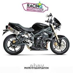Silencieux Akrapovic Carbone Racing Exhaust Triumph Street Triple 675 07-2012