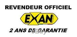 Silencieux Exan X-black Evo Inox Triumph Street Triple 2007/12 T862co-i