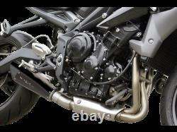 Silencieux HP Corse Evoxtreme 310 Black Triumph Street Triple 675 2013 / 2017