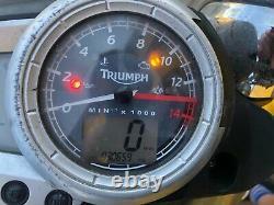 TRIUMPH Street Triple 675 Speedo Horloges Compteur Ensemble Instrument Panneau