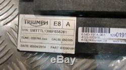 Triumph Street Triple 675 2014 kit serrure, un clef, avec bouchon de réservoir
