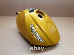 Triumph Street Triple 675 Essence Réservoir, N° Endommagé, Or, Pour 2007 2012